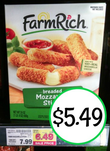 farm rich mozzarella sticks instructions