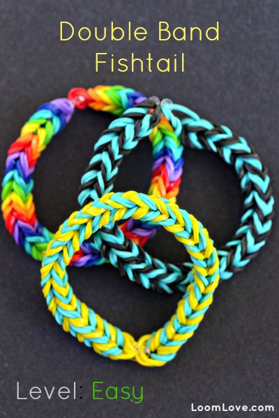 rainbow loom fishtail instructions