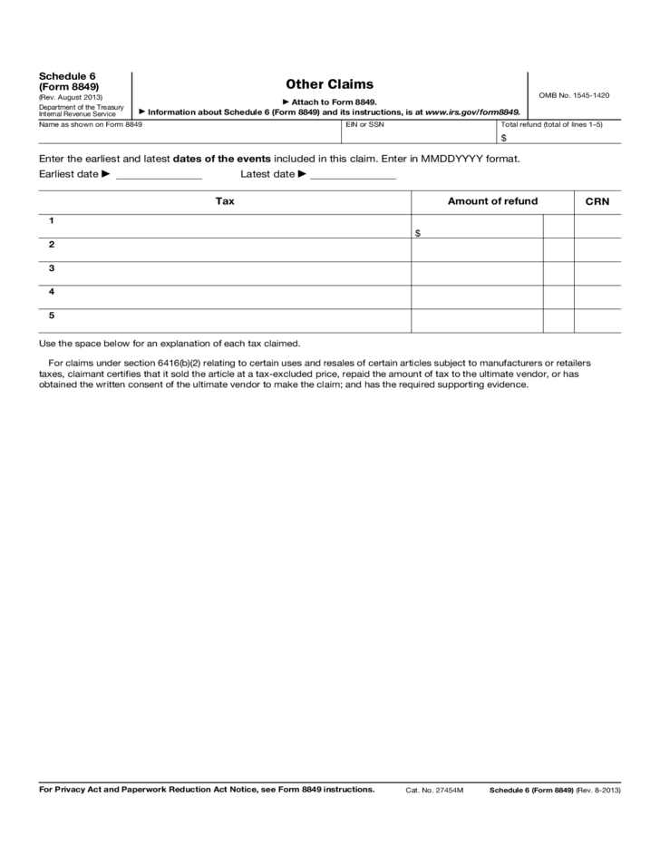 irs schedule b instructions