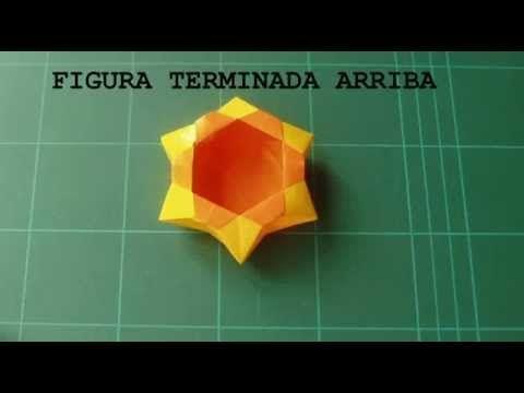 hexagonal origami box instructions