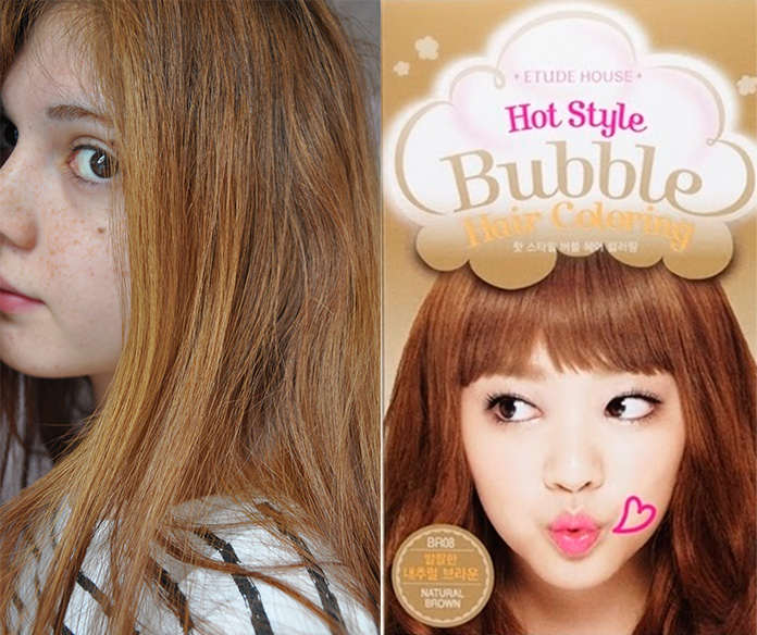 hello bubble hair dye instructions