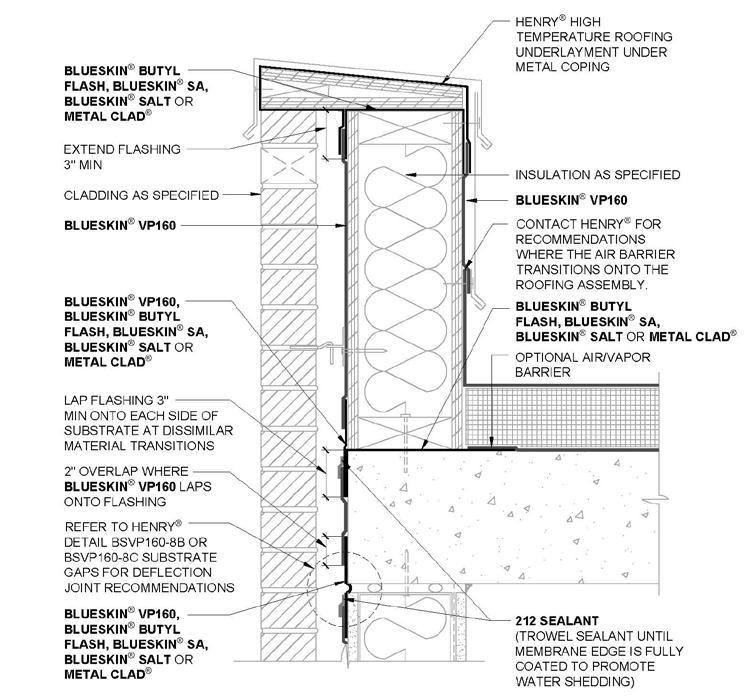 blueskin vp160 installation instructions