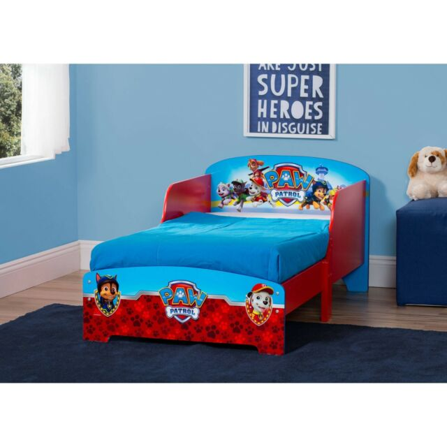 paw patrol wooden toddler bed instructions