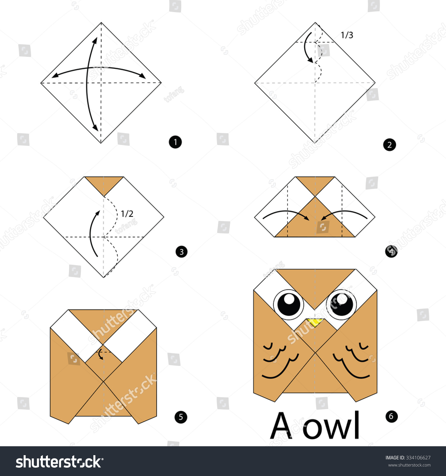 origami owl instructions easy