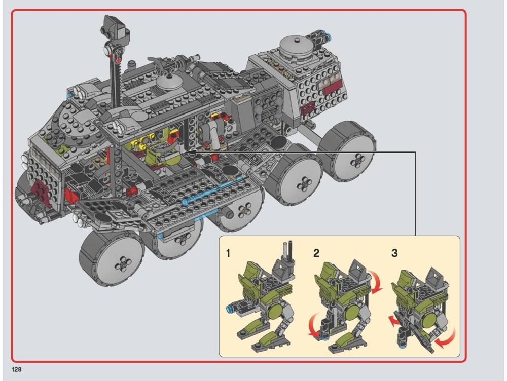 lego clone turbo tank instructions
