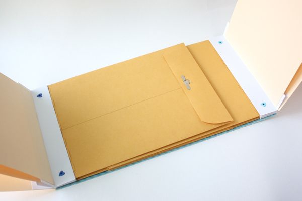 file folder mini album instructions