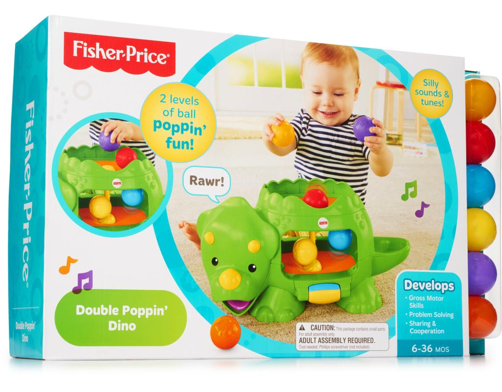 fisher price double poppin dino instructions