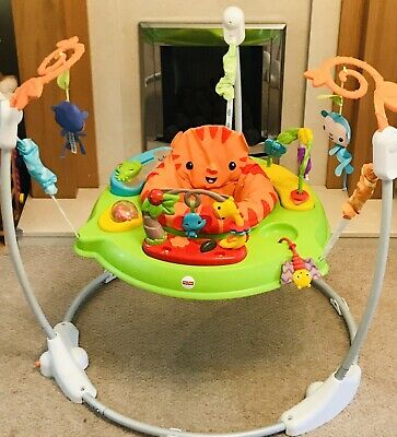 fisher price roaring rainforest jumperoo instructions