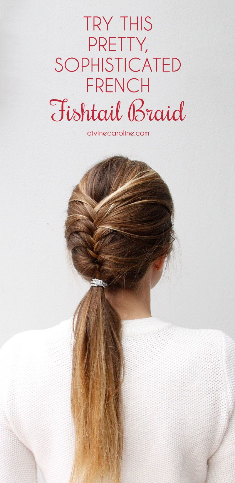 fishtail braid instructions step by step