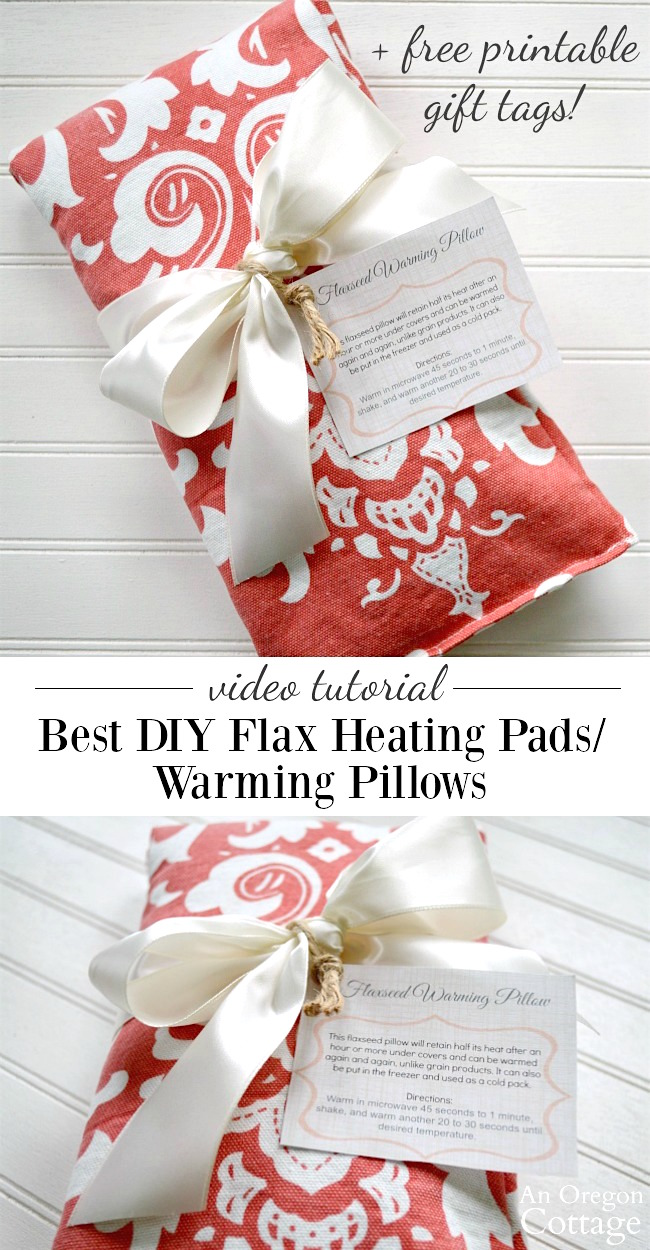 flax seed heating pad instructions