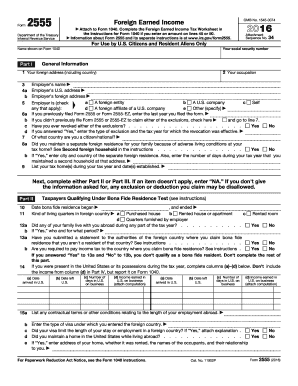 form 2555 instructions 2016