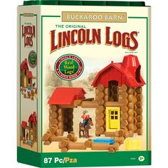 free building instructions for lincoln logs