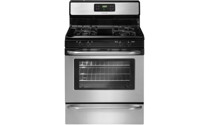 frigidaire self cleaning gas oven instructions