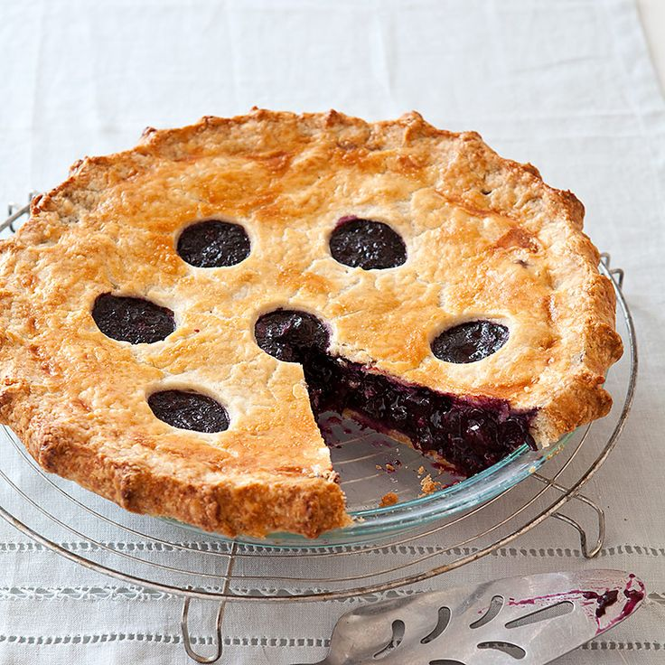 frozen blueberry pie cooking instructions