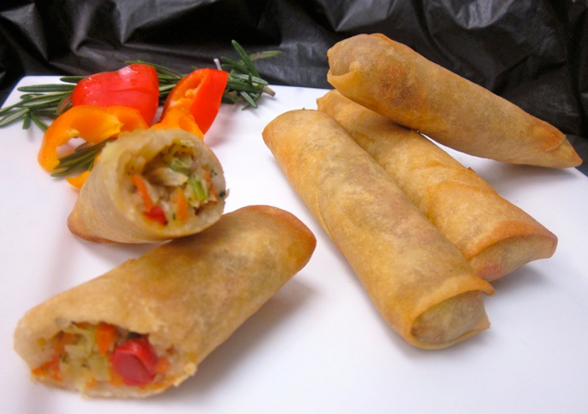 frozen spring rolls cooking instructions