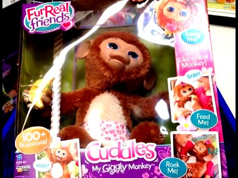 furreal friends cuddles my giggly monkey instructions