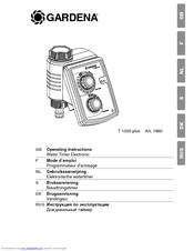 gardena wt 1030 instructions