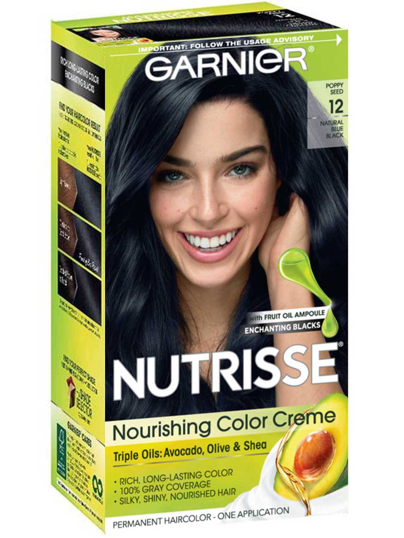 garnier nutrisse creme hair color instructions