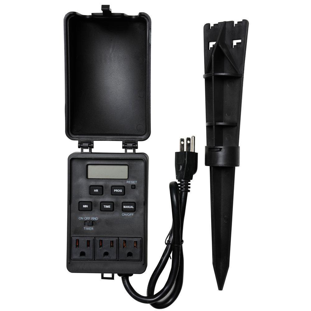 ge plug in digital timer model 15089 instructions