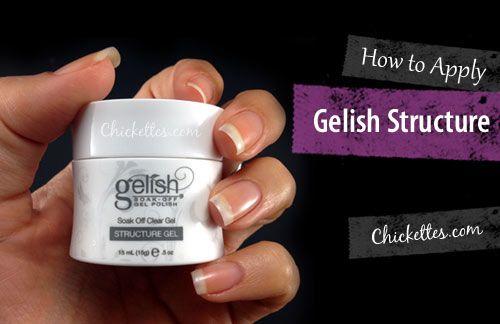 gelish nail polish instructions