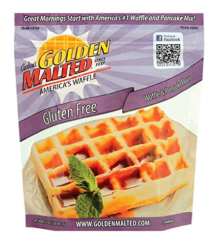 golden malted waffle mix instructions