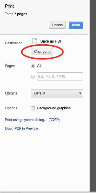 google cloud print instructions