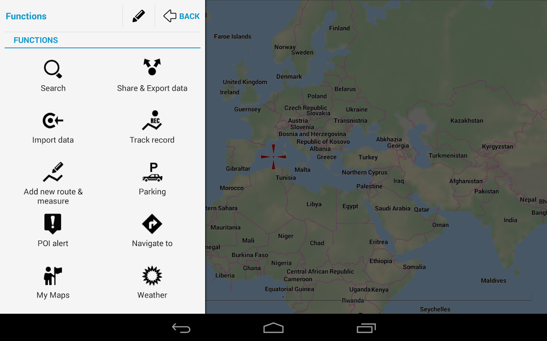 google maps app instructions