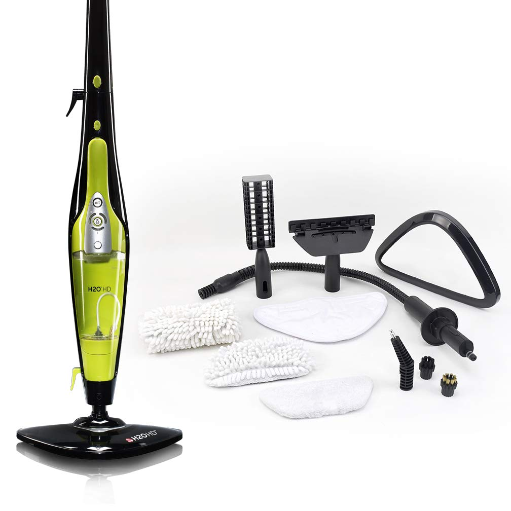 h2o portable steam cleaner instructions
