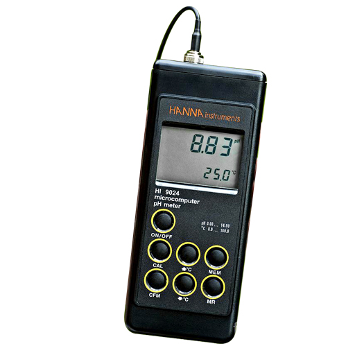 hanna ph meter calibration instructions