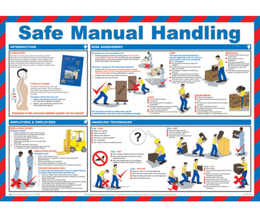 health and safety instructions