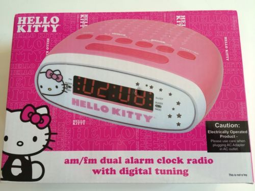 hello kitty projection alarm clock instructions