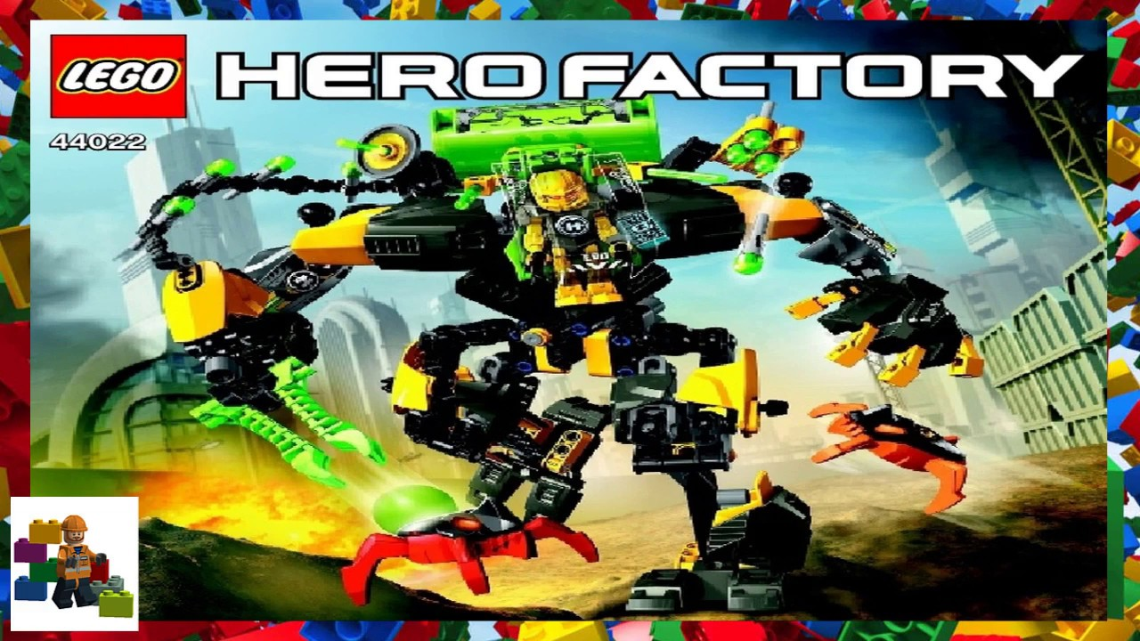 hero factory invasion from below instructions