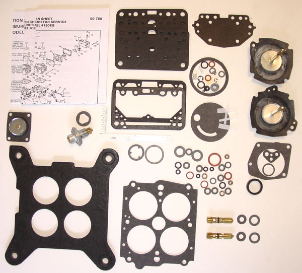 holley 4180 rebuild instructions