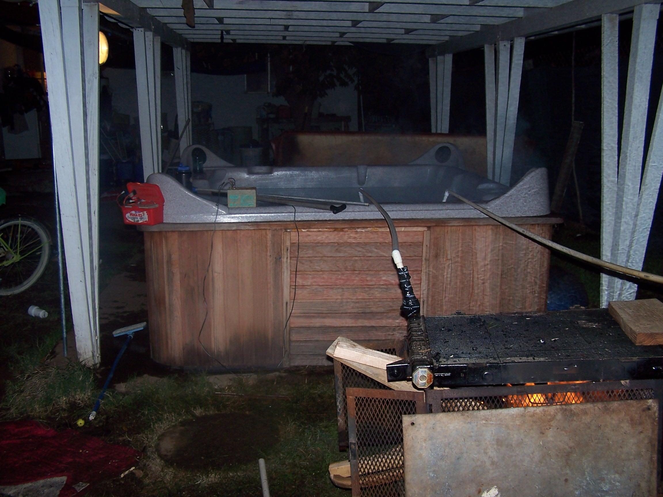 hot tub installation instructions