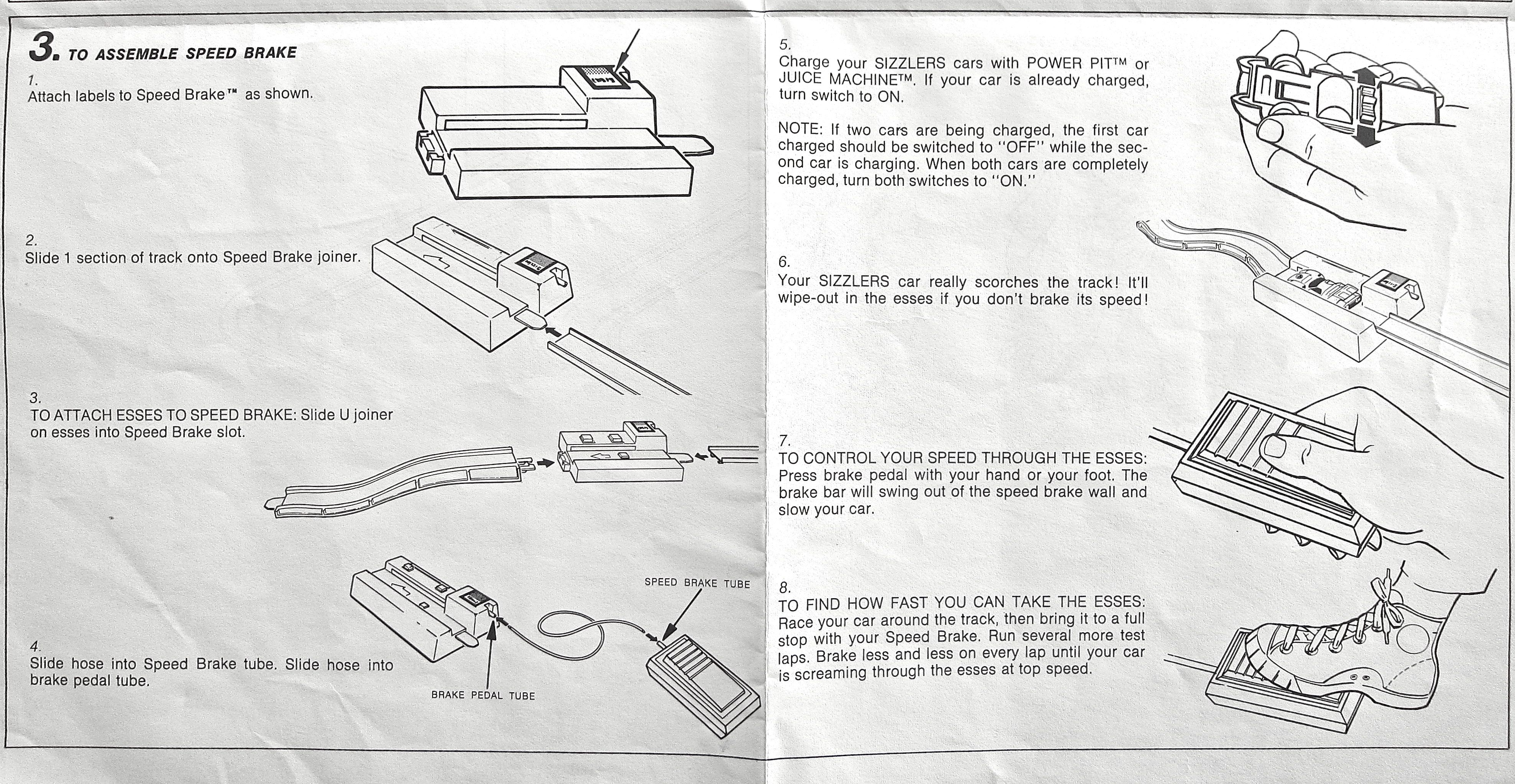 hot wheels trick tracks instructions