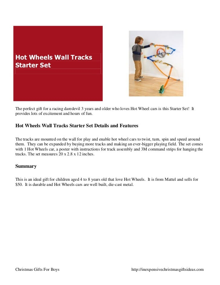hot wheels wall track starter set instructions