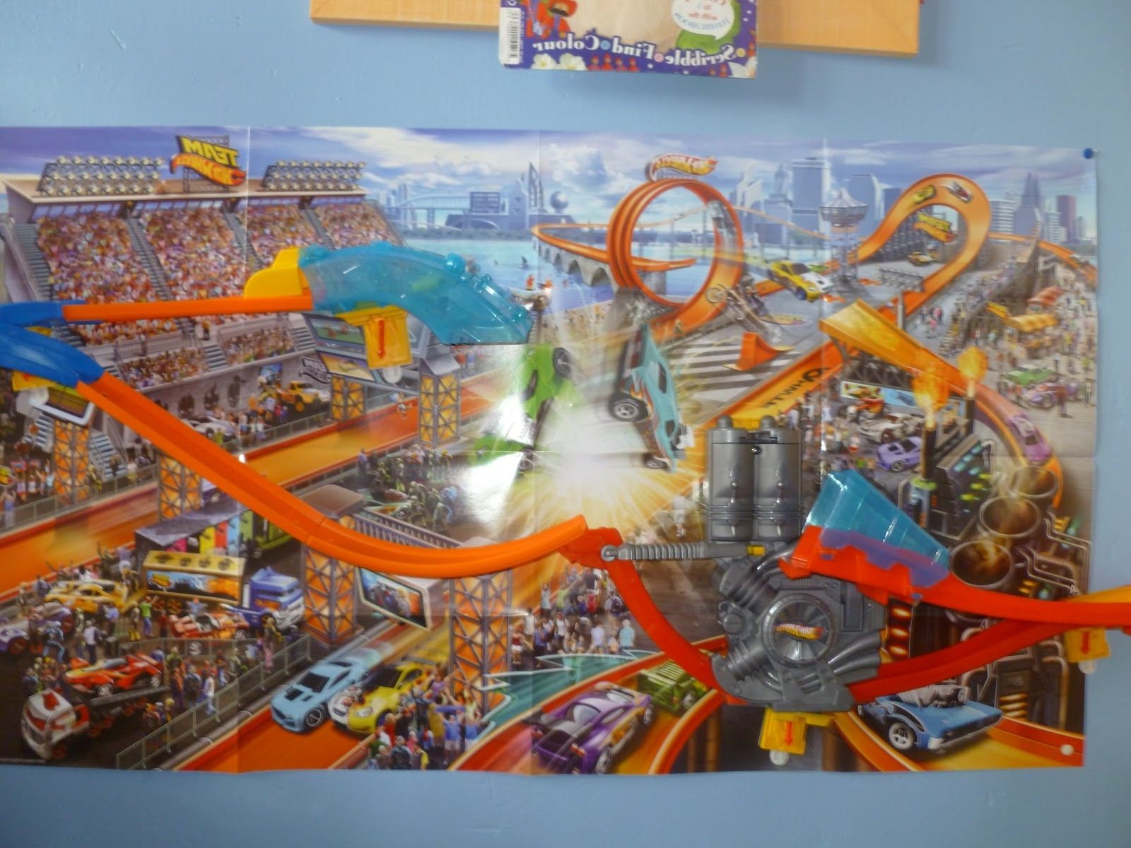 hot wheels wall tracks mid air madness instructions
