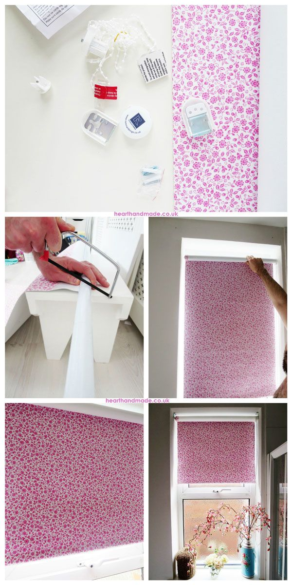 how to make a roller blind instructions