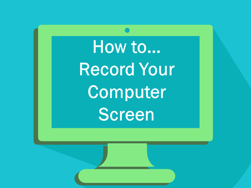 how to make an instructional video with screen recording