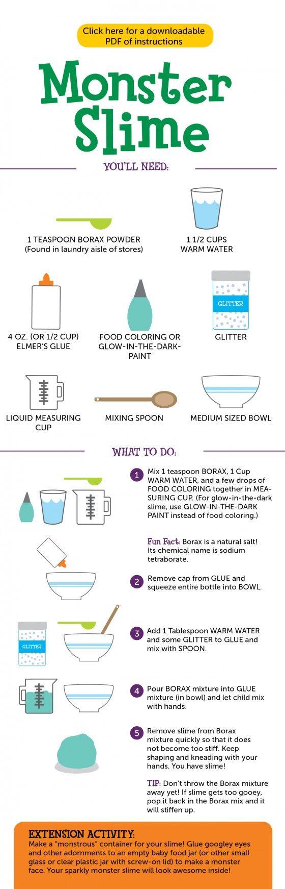 how to make goo instructions