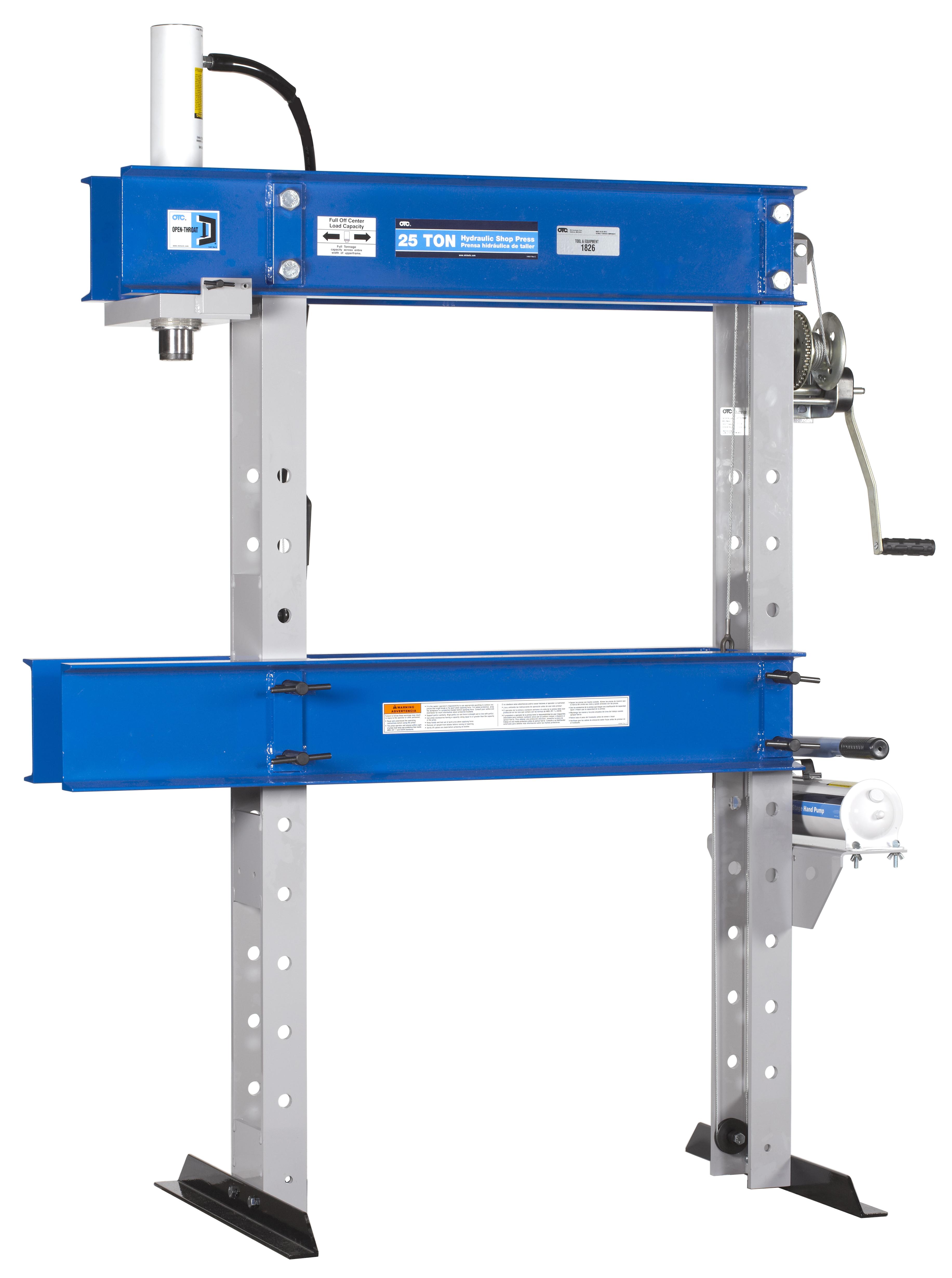 hydraulic press operating instructions