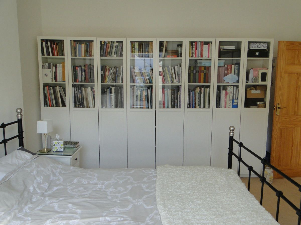 ikea billy bookcase doors instructions