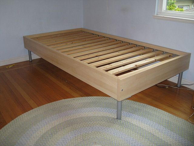 ikea double bed frame instructions