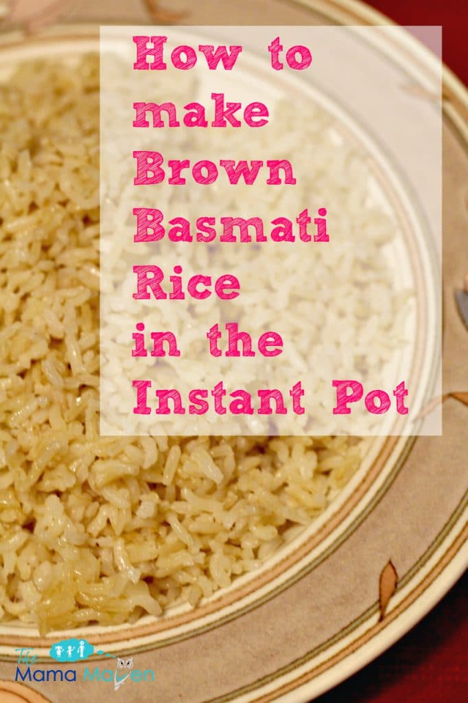 instant brown rice cooking instructions