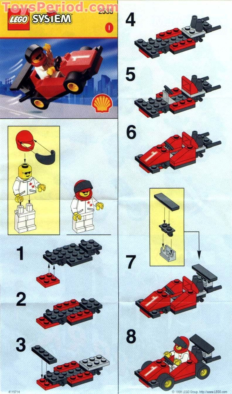 instructions to make a lego car