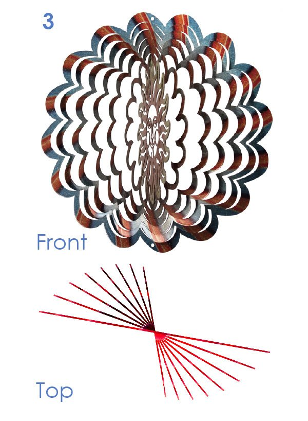 iron stop wind spinner instructions