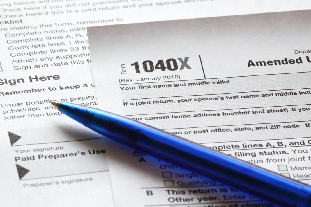 irs 1040 filing instructions