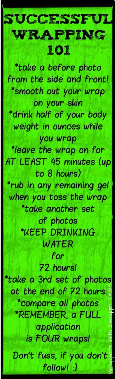 it works wrap instructions