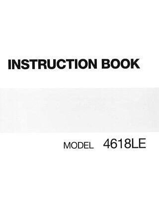 janome 4618qc instruction manual