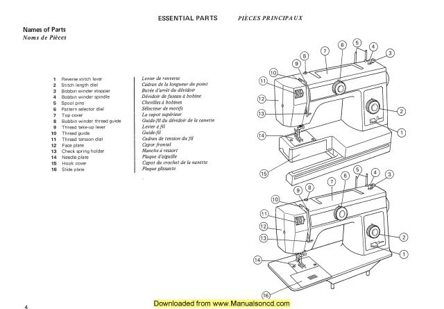 janome dc6030 instruction manual